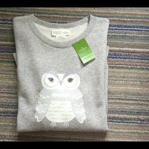Kate Spade owl sweater